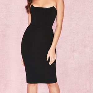 Strapless House of CB Dress